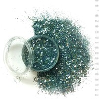 Biodegradable Face Glitter in Temptress