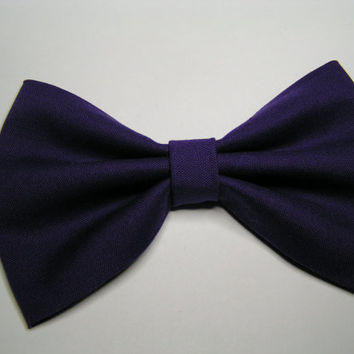 Purple fabric Hair Bow, hair bow, Large Hair Bow for teens and women, Kids hair bows, Hair bows