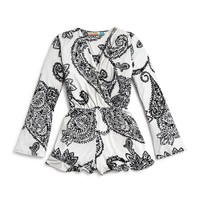 Vintage HavanaGirls' Paisley Romper - Sizes S-XL