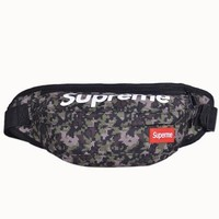 Men's and Women's Supreme Chest Pockets Oxford Casual Riding Bag  057
