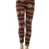 LOCOMO Women Snowflake Christmas Pattern Ankle Length Legging One Size Multicolored:Amazon:Clothing
