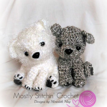 Stash the Scrappy Pup; CROCHET PATTERN; PDF