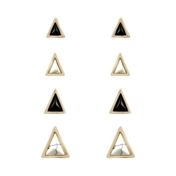 House of Harlow 1960 Meteora Stud Earring Set