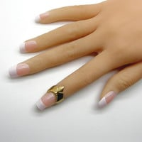 Knuckle Ring, Gold Rings, Knuckle Ring Set, Midi Ring, Adjustable Rings, Stackable Rings
