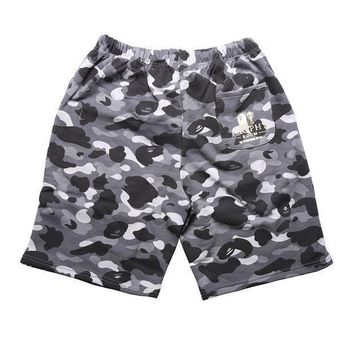 Camouflage Men Casual Pants Shorts
