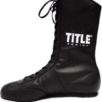 TITLE Leather Boxing Shoes | TITLE Boxing Shoes & Socks | TITLE Boxing Women's Apparel | TITLE Boxing Apparel | TITLE Boxing Equipment & Apparel | TITLE Brands from Title Boxing