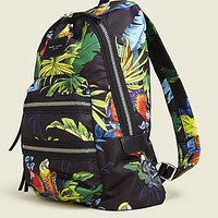 Parrot Printed Biker Backpack - Marc Jacobs