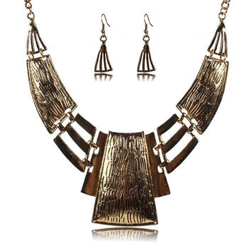 Indian Necklace Earring Set
