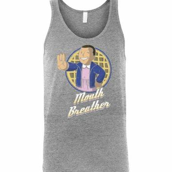 Mouth Breather Unisex Tank Top