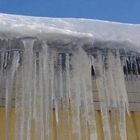 Roof Ice Dam - Ann Arbor Roofing Services