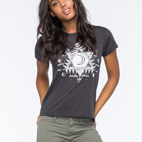 Billabong One Universe Womens Tee Off Black  In Sizes