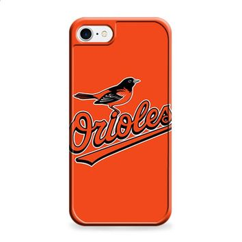 ORIOLES BASEBALL LOGO ORANGE iPhone 6 | iPhone 6S case