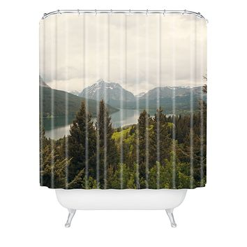 Catherine McDonald Summer In Montana Shower Curtain