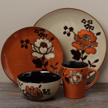 Tabletop Unlimited 'Ibiza Brown' 16-piece Dinnerware Set | Overstock.com