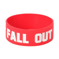 Fall Out Boy Save Rock And Roll Rubber Bracelet