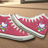 Hello Kitty Converse Shoes