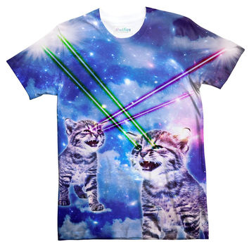 Laser Kitty Sublimated T-Shirt