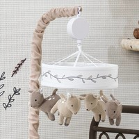 Lambs & Ivy® Meadow Deer Musical Mobile in Tan/White