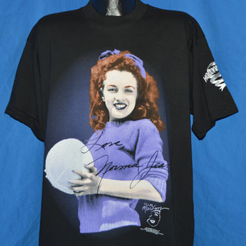 90s Norma Jean Marilyn Monroe Deadstock t-shirt Extra Large