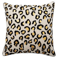 The Emily + Meritt Leopard Pillow Cover