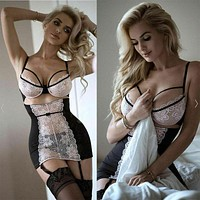 Ladies Bikini Cover Up Sexy-Lingerie-Sleepwear-Lace-Outfit