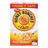 Post Honey Bunches of Oats Honey Roasted Oat Cereal 18-oz.