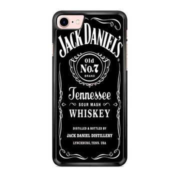 Jack Daniels Black iPhone 7 Case