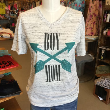 Boy mom tshirt