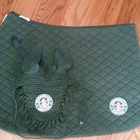 STARBUCKS Saddle Pad and Bonnet