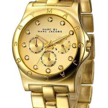 MARC BY MARC JACOBS fashion exquisite watch Gold B-PS-XSDZBSH