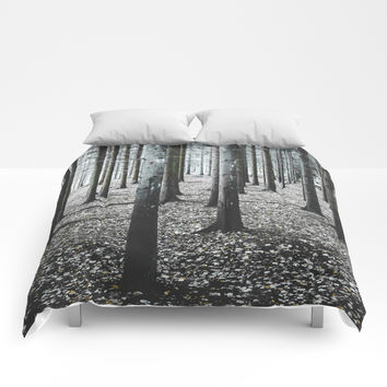 Coma forest Comforters by happymelvin