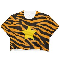 Eye of the Tiger Crop Top