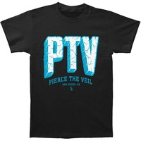 Pierce The Veil Men's  Stone T-shirt Black Rockabilia