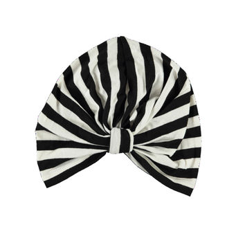 Turban B&W Stripe baby
