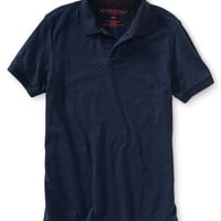 Allover Dot Jersey Polo