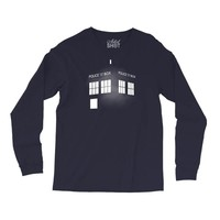 Tardis Doctor Who Long Sleeve Shirts