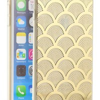 Sonix 'Gold Lace' Clear iPhone 6 Plus Case - Metallic