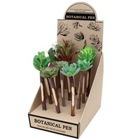 Botanical Cactus Pen - 6 Variations by Time Concept Inc