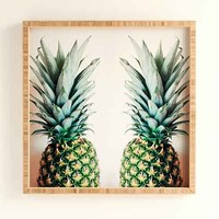 Chelsea Victoria For DENY How About Those Pineapples Framed Wall Art