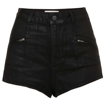 MOTO Zip Shorts - Shorts - Clothing - Topshop USA