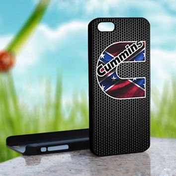 CUMMINS Turbo Diesel Logo - Print on Hard Cover For iPhone 4,4S