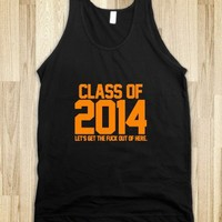 Class of 2014 orange let's get out - Awesome fun #$!!*&