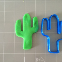 Cactus Tree Cookie Cutter