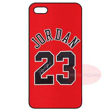 Jordan 23 Cover Case for Samsung Galaxy S2 S3 S4 S5 Mini S6 S7 Edge Note 2 3 iPhone 4 4S 5 5S 5C 6 Plus iPod Touch