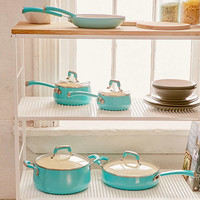 10-Piece Pop Teal Cookware Set | Urban Outfitters