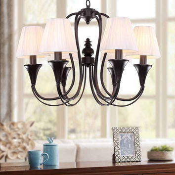 Modern Retro Chandelier For Kitchen Bedroom Hanging Antique Iron Chandelier American Style Blc1512