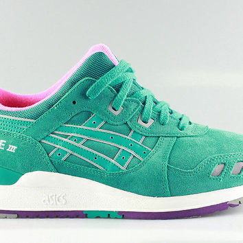 buy online 789c7 7c127 Asics Gel Lyte III 3 All Weather Pack Tropical Green