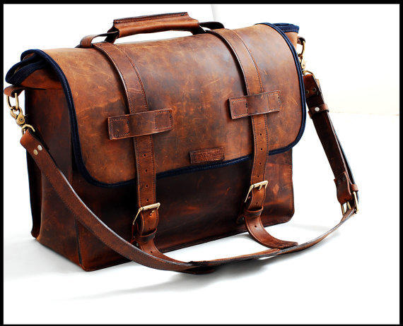 New Vintage Style Leather Bag For Any From Sizzlestrapz On