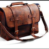 New Vintage style leather bag for any specialty  in Full Grain Leather - A Bartender tool Bag