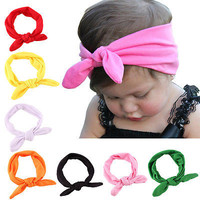 1pc Kids Girls Baby Headband Toddler Bow Flower Hair Band Accessories Headwear !